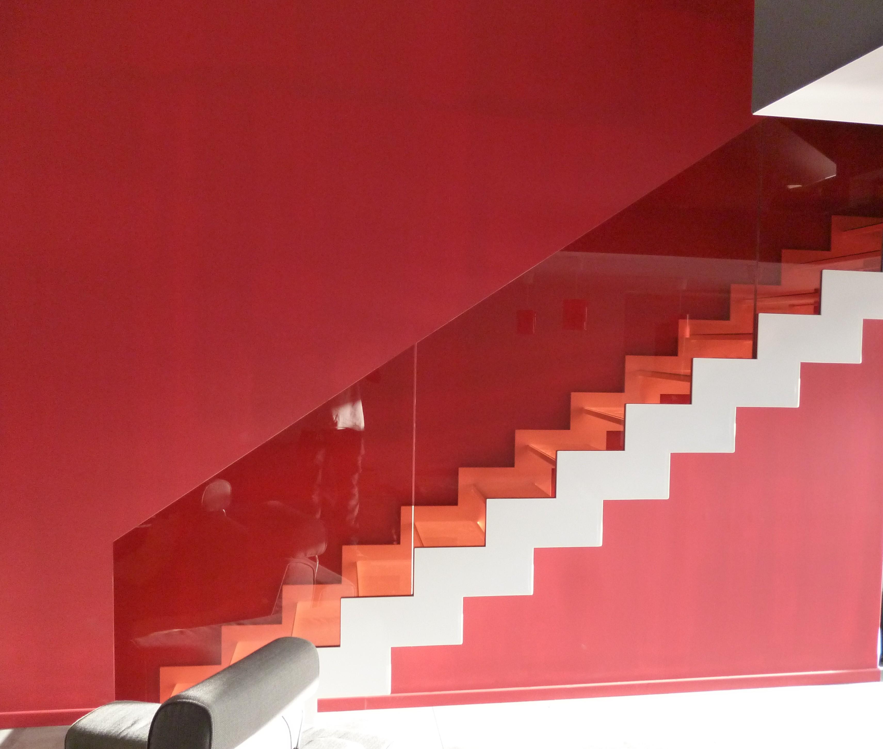Contact devis blog de vdv ferronnerie - Escalier en couleur ...