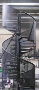 Escalier extérieur colimaçon