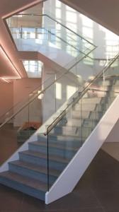 Escalier VDV Design verre et pierre