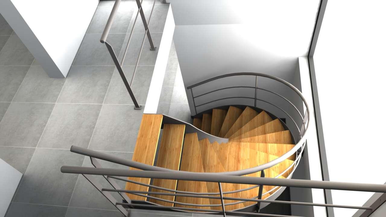 Escalier VDV Serenity en 3D
