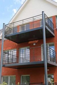 Balcon et terrasse Waterloo 4