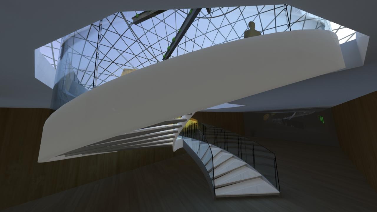 """Escalier design VDV """"Milano 2015"""""""