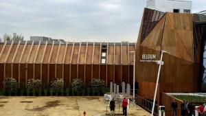 Le pavillon belge de l'exposition universelle de Milan - © © Belga